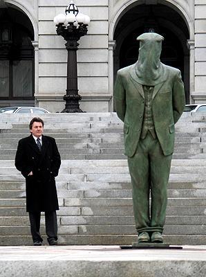 Molly Maguire, public sculpture