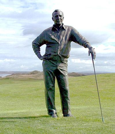 Arnold Palmer, Tralee, public sculpture