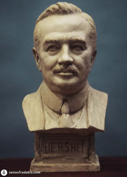 Milton Hershey, sculpture collection
