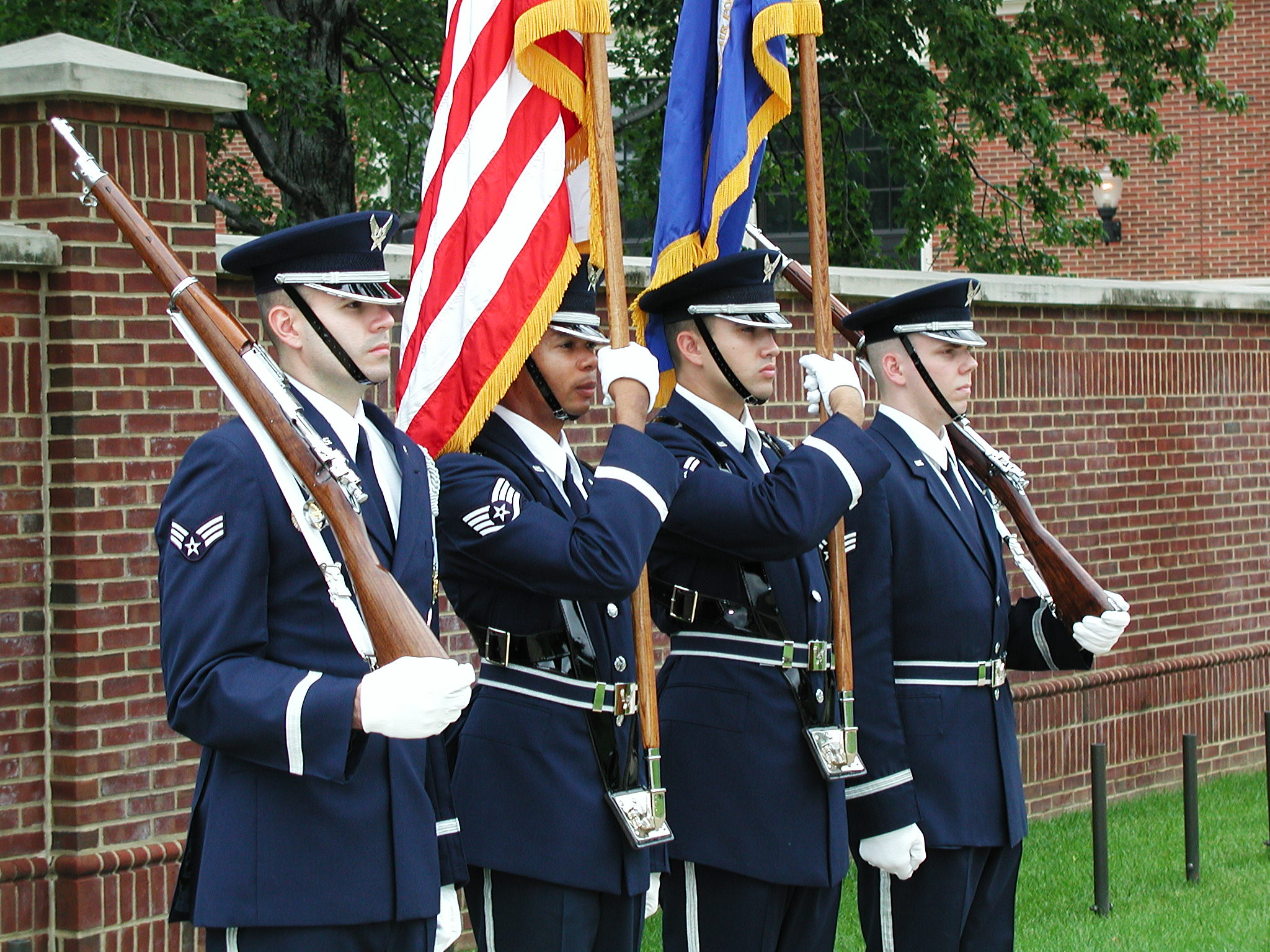 We were also impressed with the commitment of these young men and women to the Honor Guard, ...