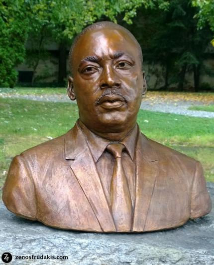 Reverend Martin Luther King, Milwaukee, sculpture collection
