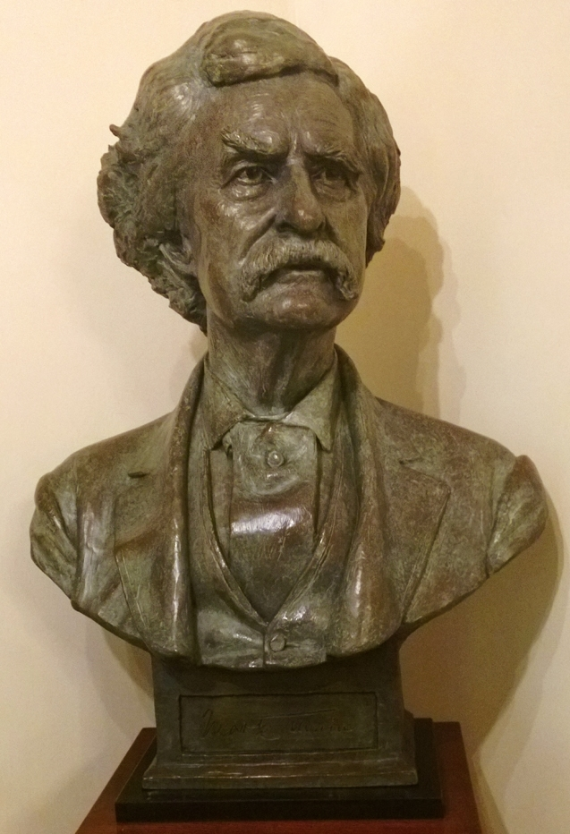 Mark Twain, sculpture collection