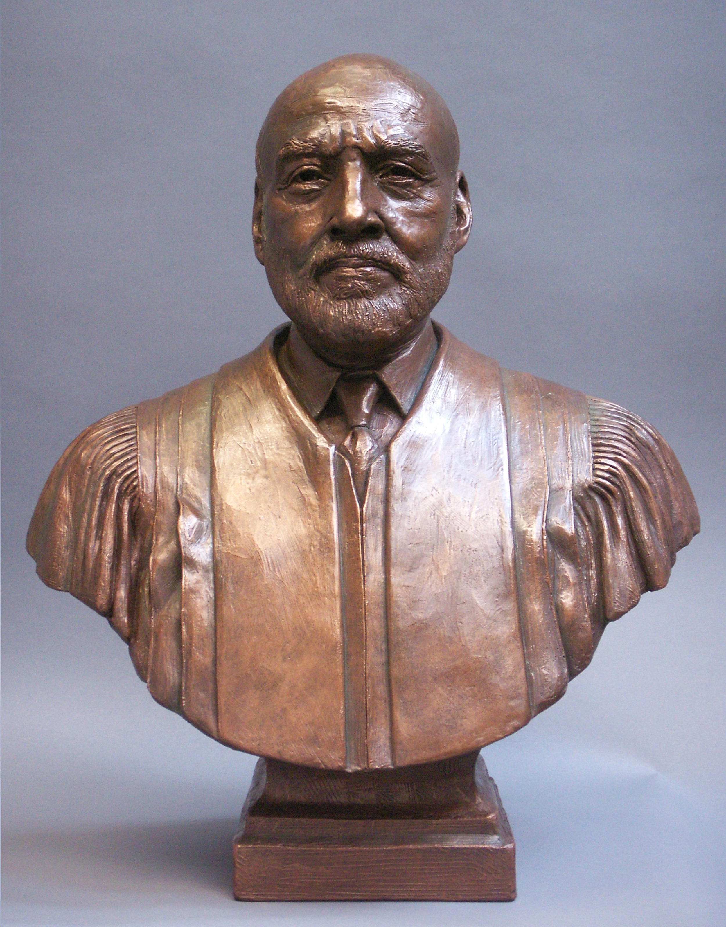 Chief Justice Birch, sculpture collection