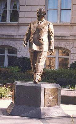 Governor Ellis Arnall, portrait statue