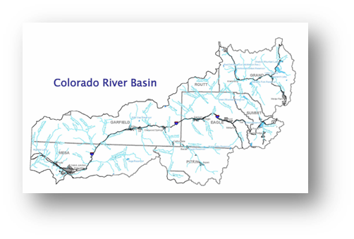 Colorado Water Conservation Board Basin Fact Sheet,  Colorado River Basin