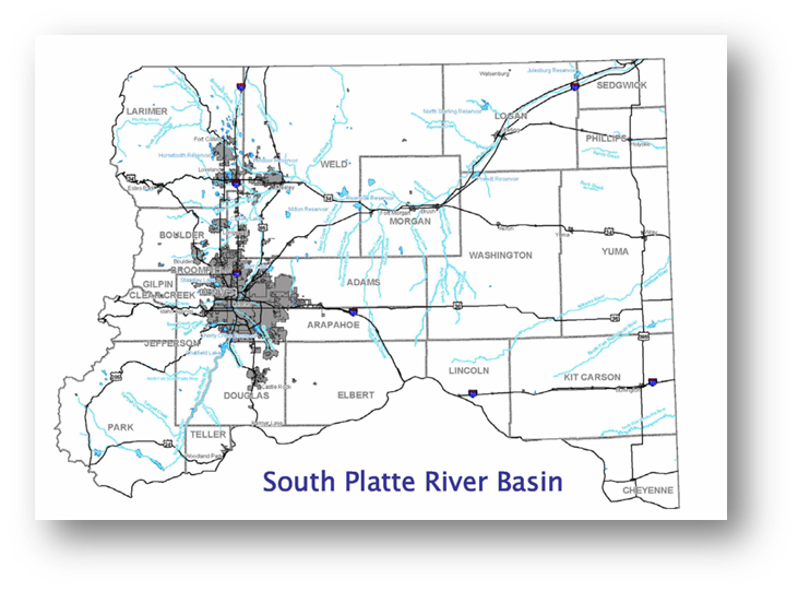 Colorado Water Conservation Board Basin Fact Sheet,  South Platte River_Metro Basin