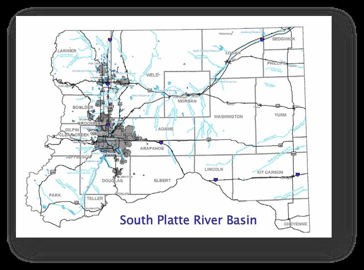 Colorado Water Conservation Board Basin Fact Sheet,  South Platte River Basin