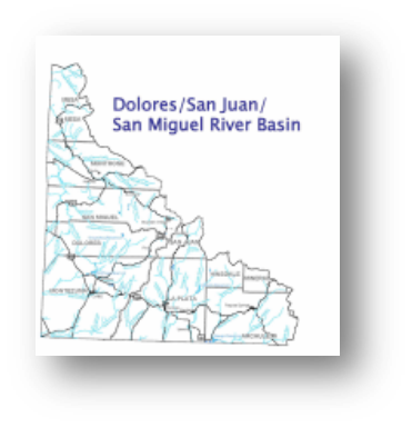 Colorado Water Conservation Board Basin Fact Sheet,  Southwest Dolores/San Juan/San Miguel River Basin