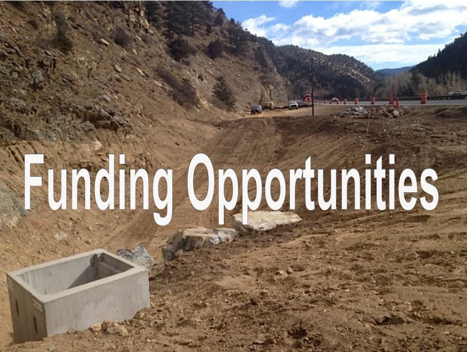 CDOT Sediment Basin Project