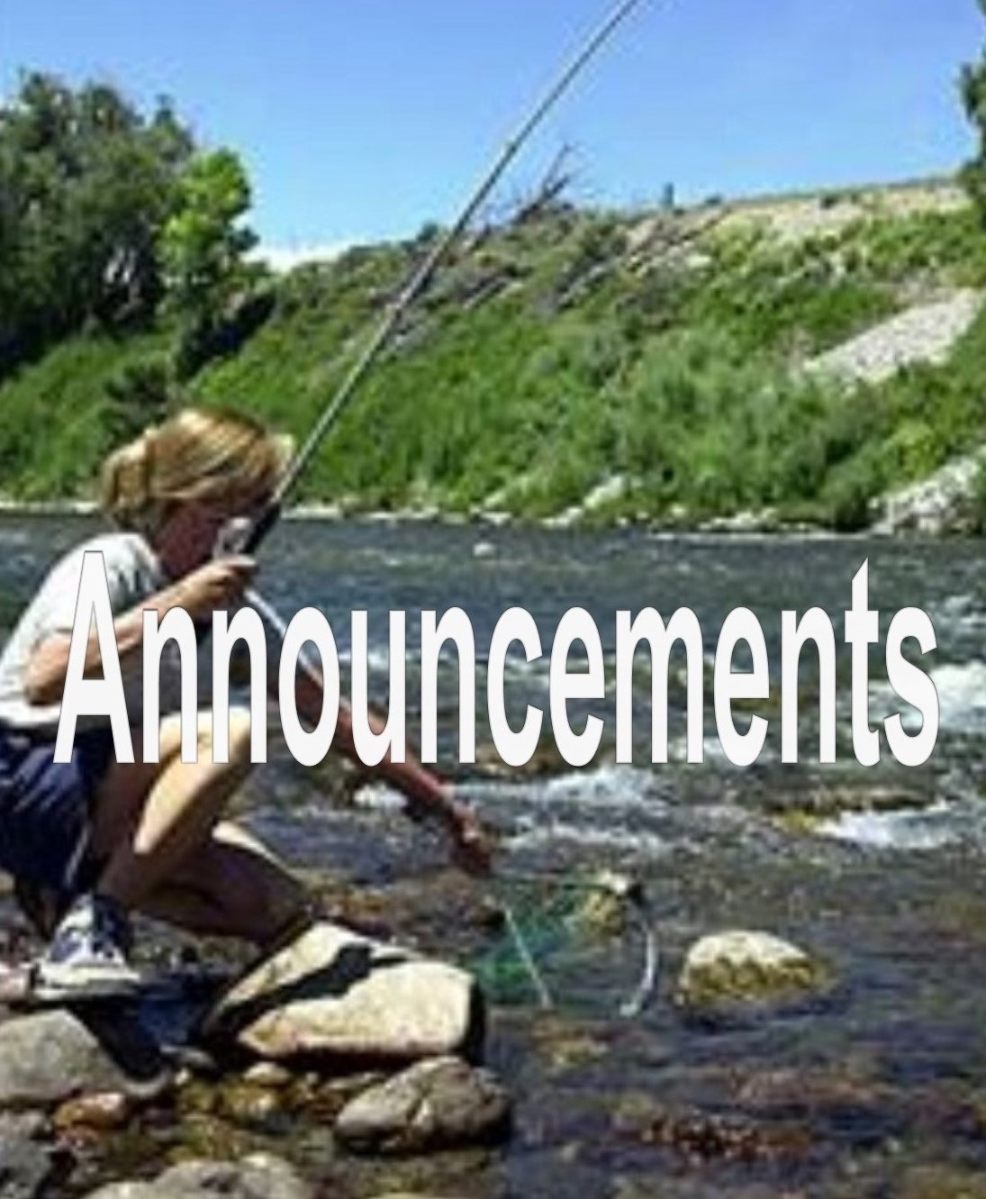 Female Angler on Big Bend SWA, Division of Wildlife, Patty Seraphin,  2001