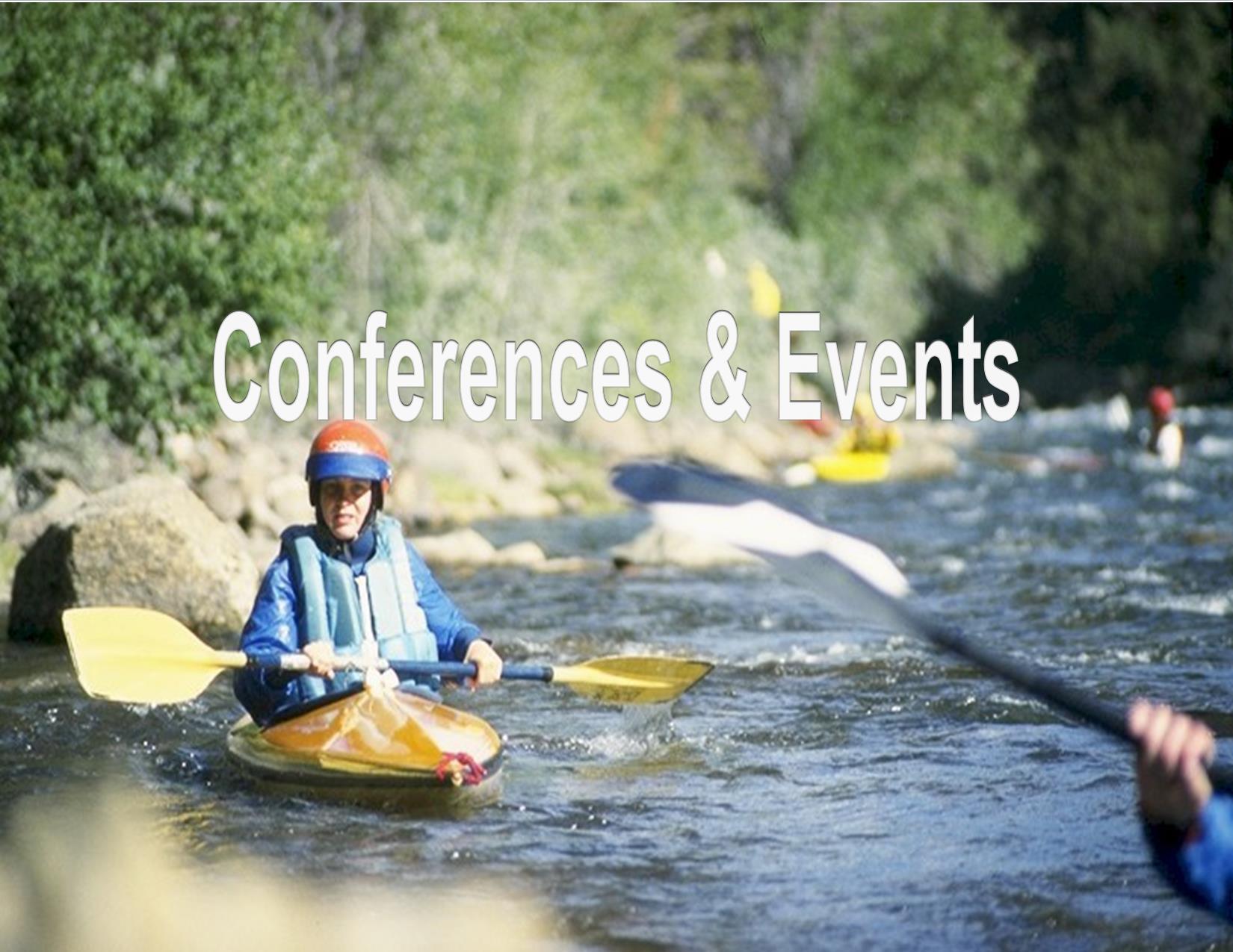 Woman kayaking in river, Division of Wildlife, Colorado Division of Wildlife