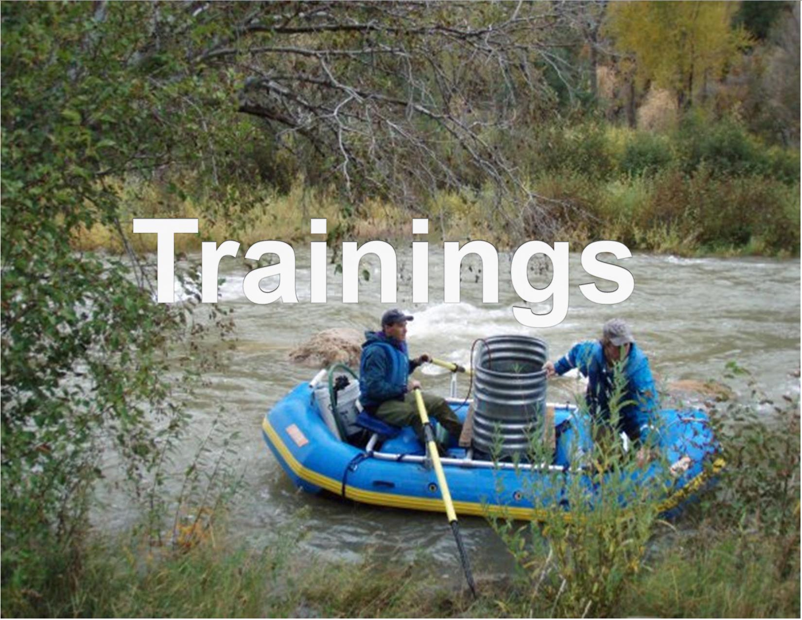 Fish stocking by boat, Division of Wildlife, Jason Fearheiley, Colorado Parks and Wildlife, 10/28/2009
