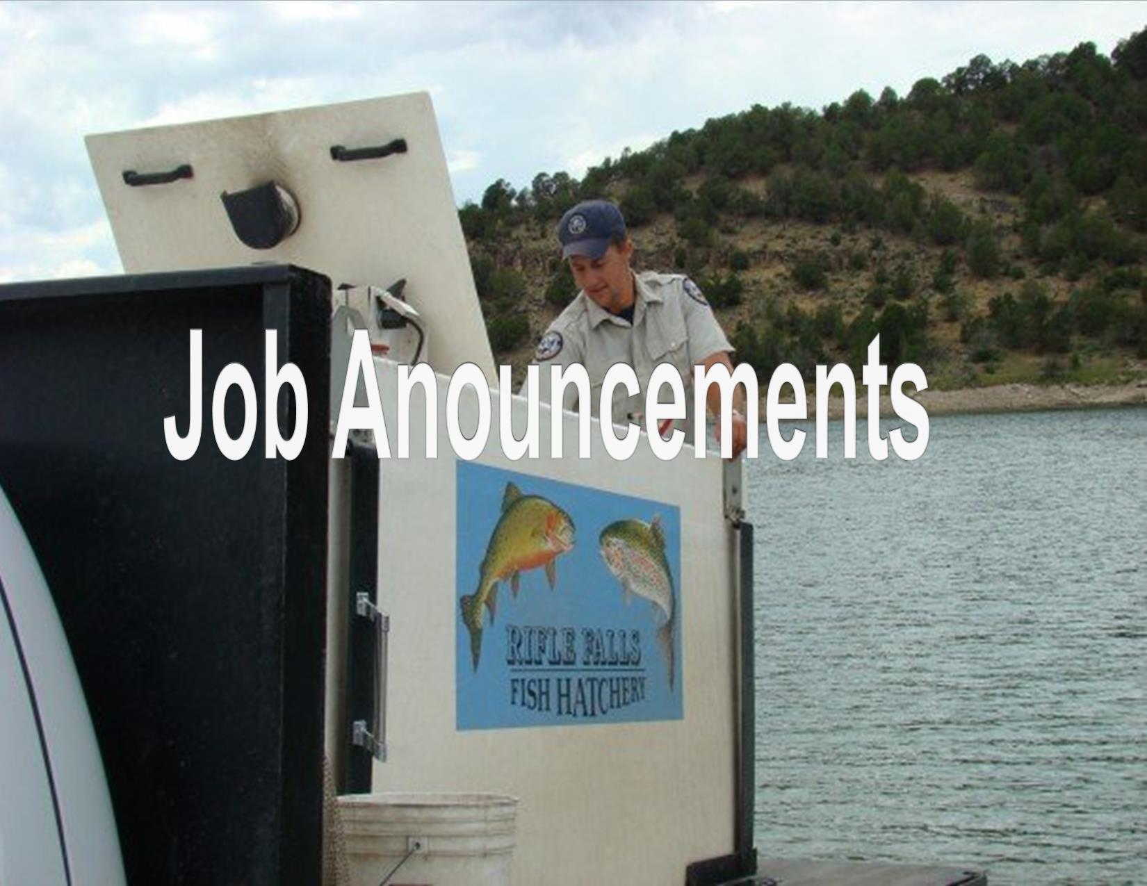 Fish Hatchery Technician Stocking, Jason Fearheiley, stocking fish. Division of Wildlife,7/15/2008