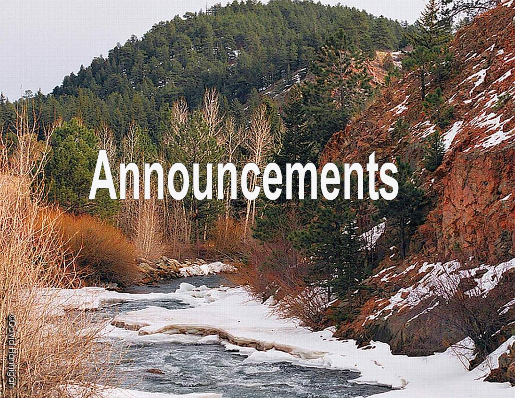 Frozen river in North Fork of South Platte, Bailey Colorado, Division of Wildlife, David Hannigan