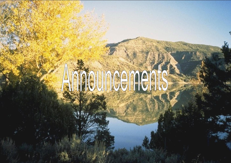 Mountain Lake, Colorado Division of Wildlife, 10/20/2003