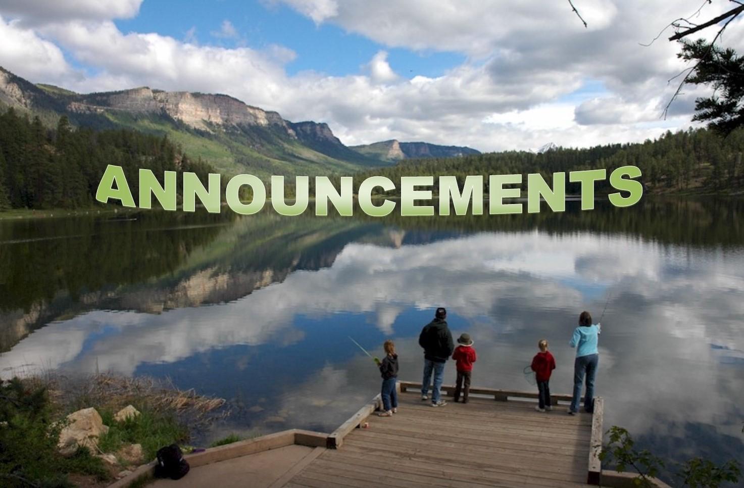 Family Fishing at Haviland Lake, Free Fishing Day At Haviland Lake, 20 miles north of Durango, Photo by employee Joe Lewandoski May/June 2005, Division of Wildlife