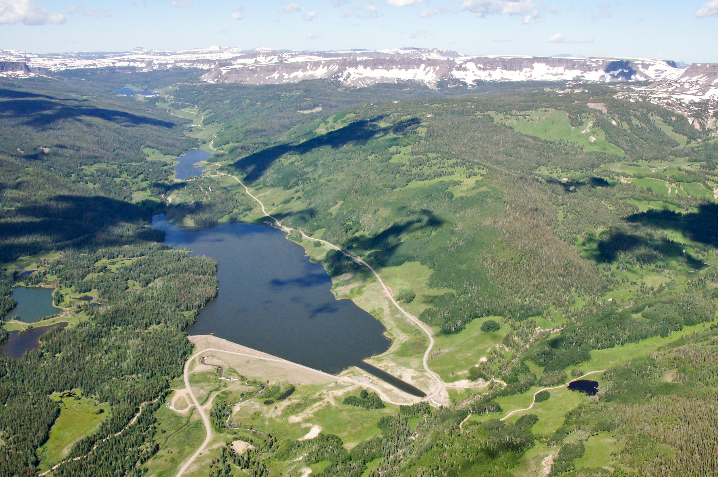Bear River Reservoir, Photo Credit Upper Yampa Water Conservancy District