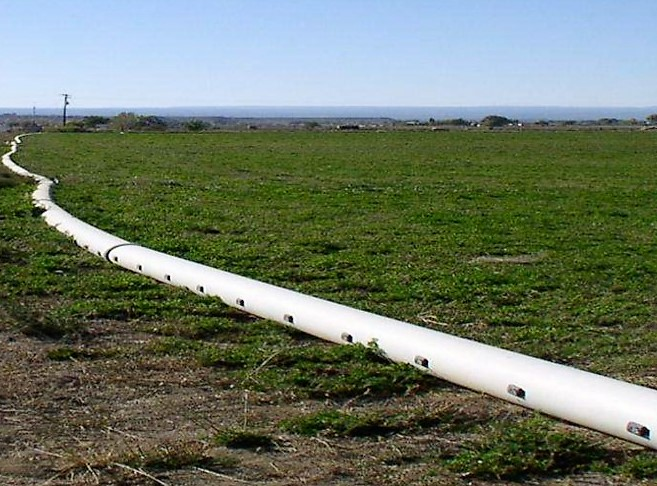 On-Farm Grated Pipe - Photo Credit Selenium Management Program Workgroup
