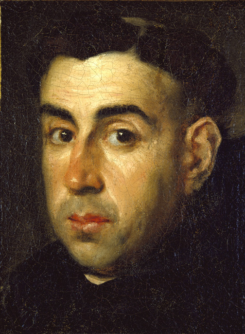 Portrait of a Monk, ca. 1685    Artist: Claudo Coello, 1642-1693 (Spanish); oil on canvas