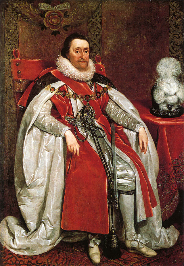 King James I, 1621