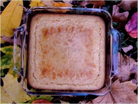 Modern Cornbread  made in the Adventure Kitchen, November 2014