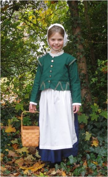 """Mayflower passenger """"Remember Allerton"""" visited our Adventure Kitchen classroom earlier this month."""