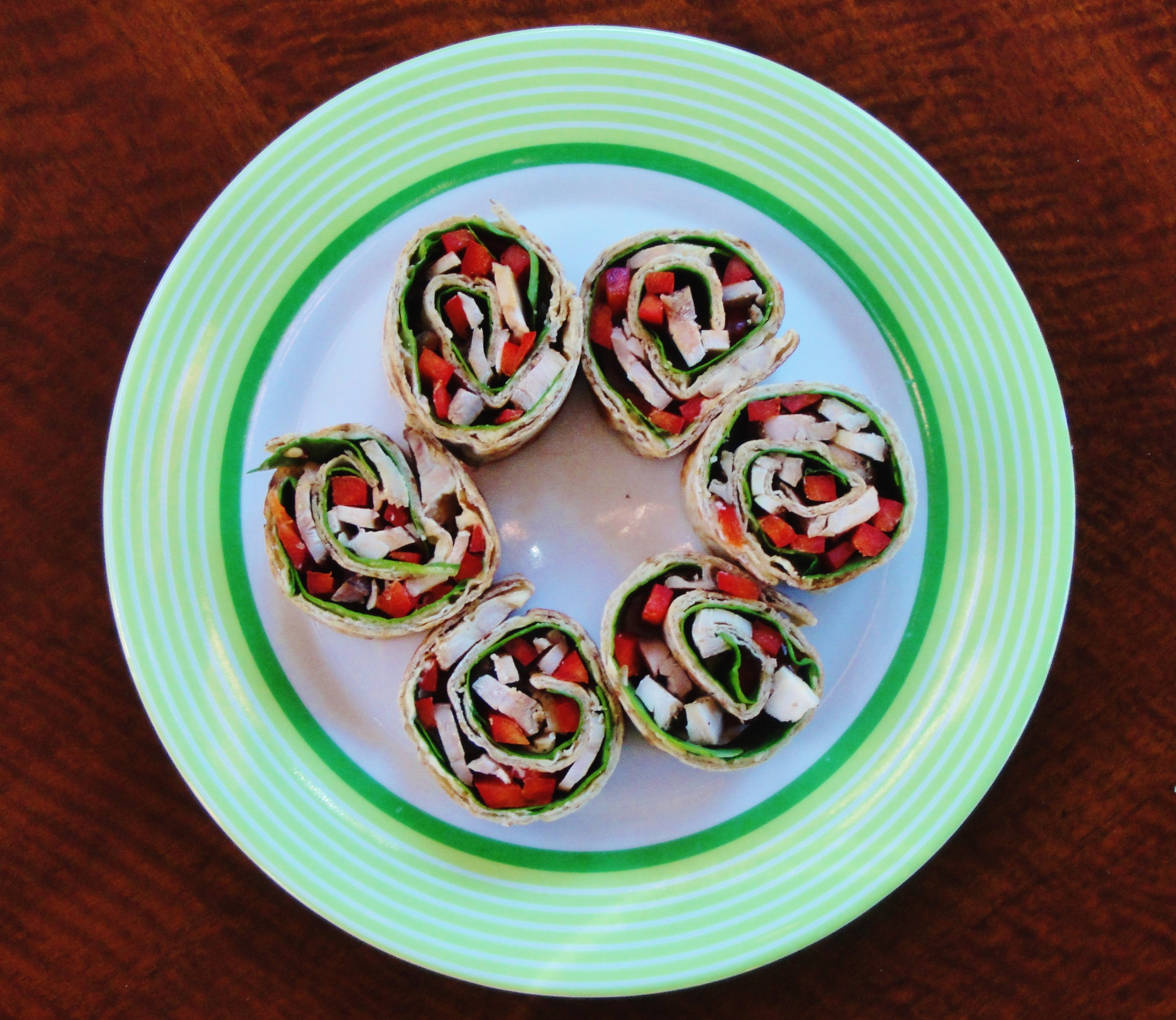 Middle Eastern pinwheels are ready!