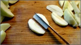 cutting apples 5