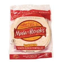 Flour tortillas, used mainly in the northern states of Mexico, but not for tacos.   Click here to learn more about these.