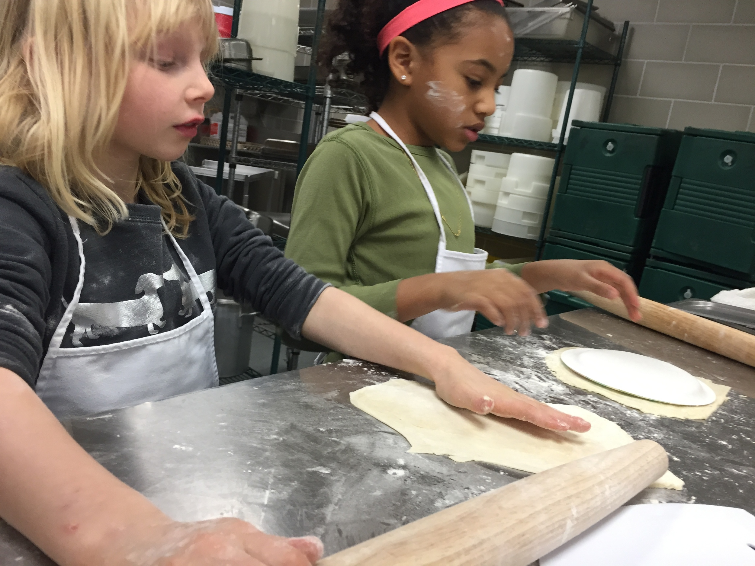 Learning to Roll Out Pastry