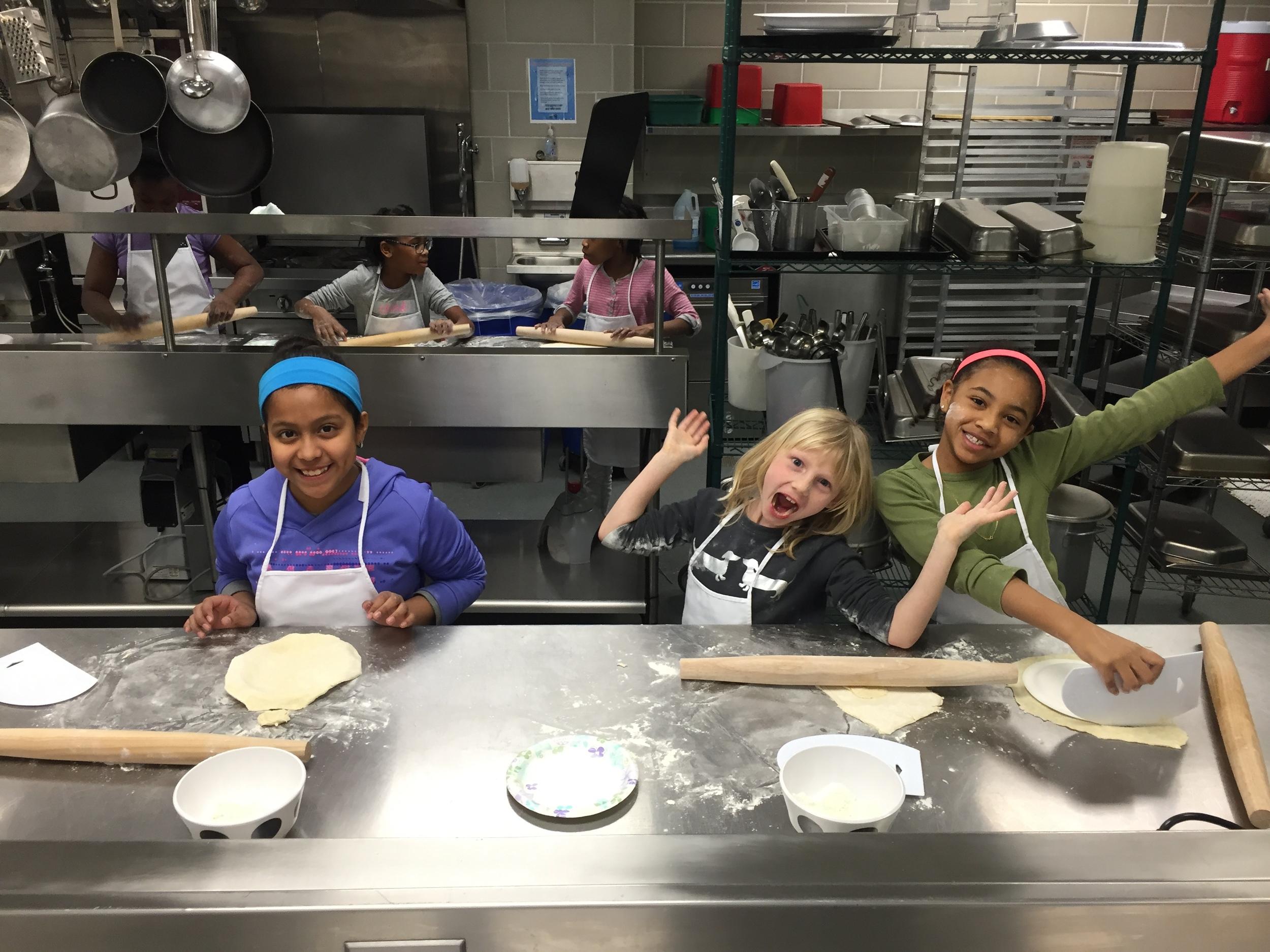 Kitchen Warriors At Work