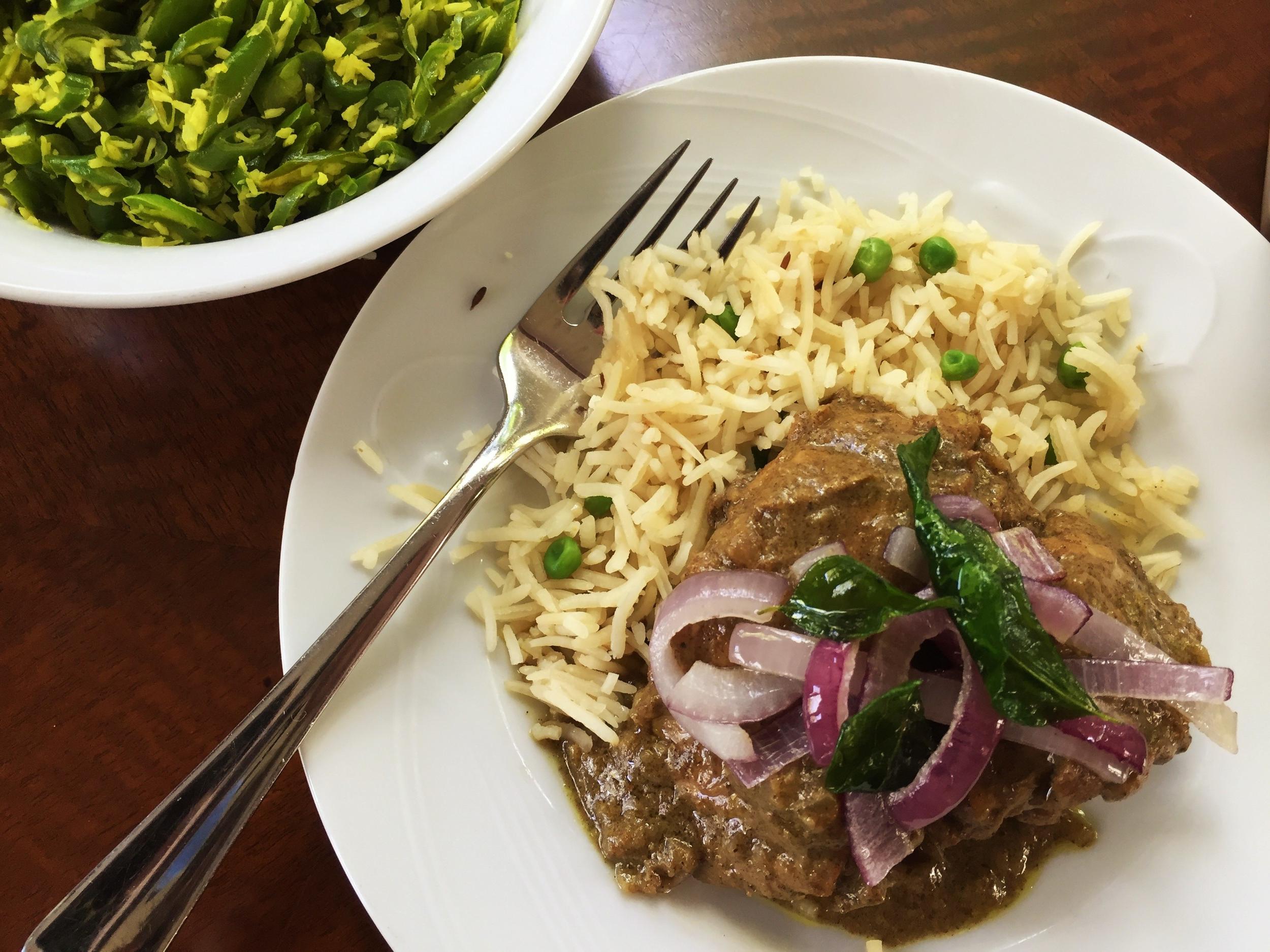 kerala chicken curry nadan kozhi curry