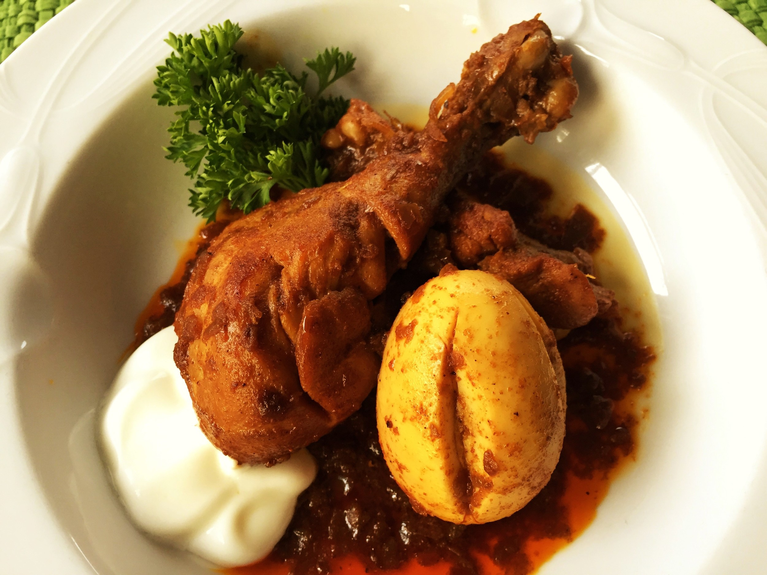 doro wat ethiopian chicken stew
