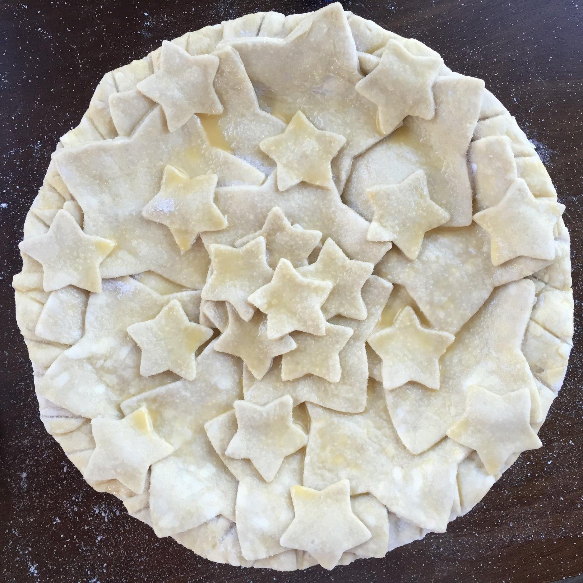 Circular pie
