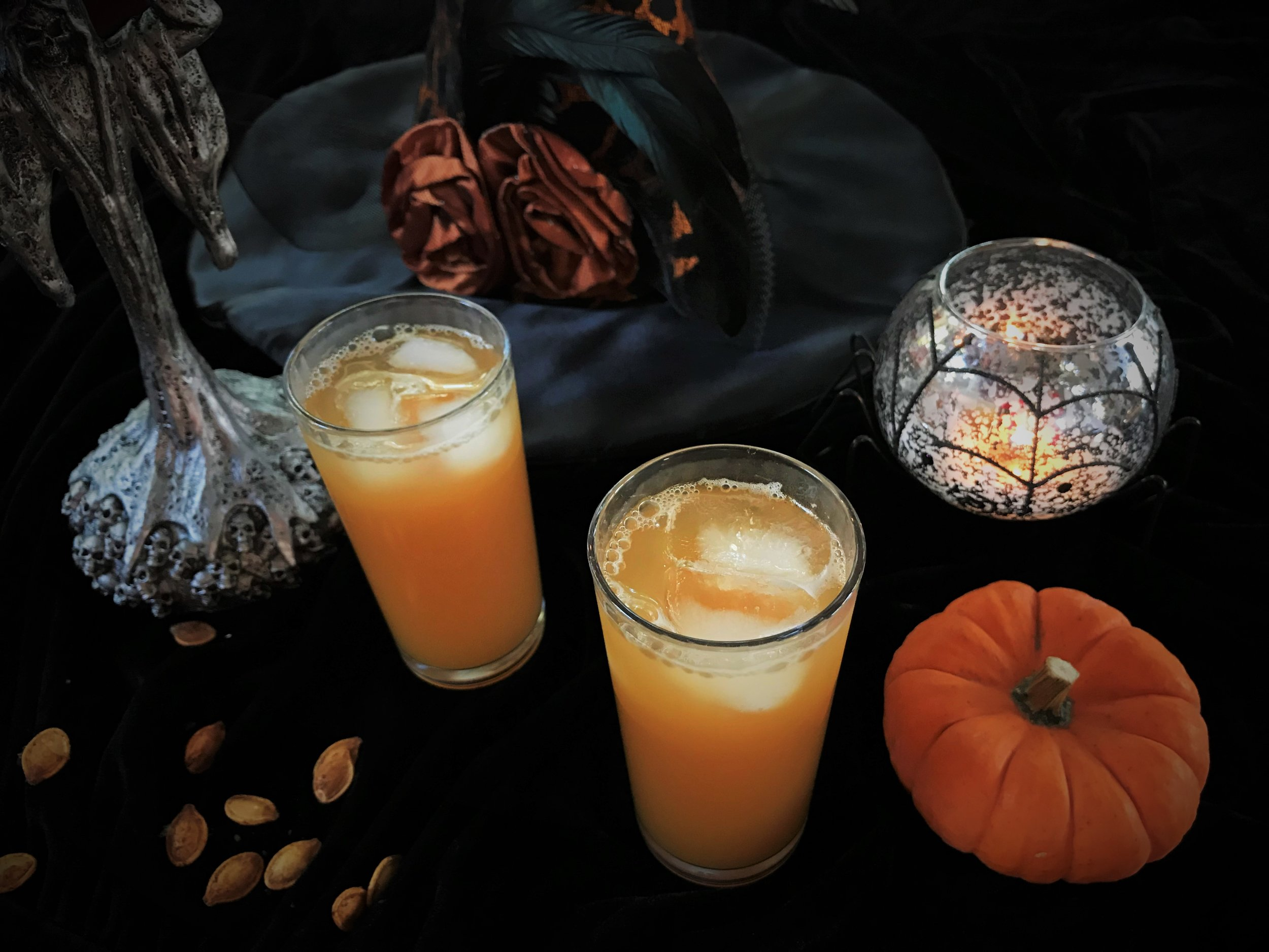 Harry Potter's Pumpkin Juice ready for action in the Adventure Kitchen.