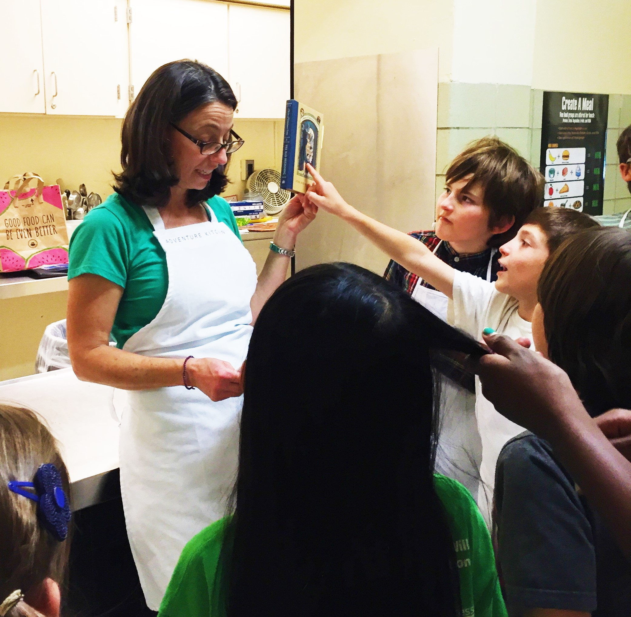 A Series of Unfortunate Recipes cooking class