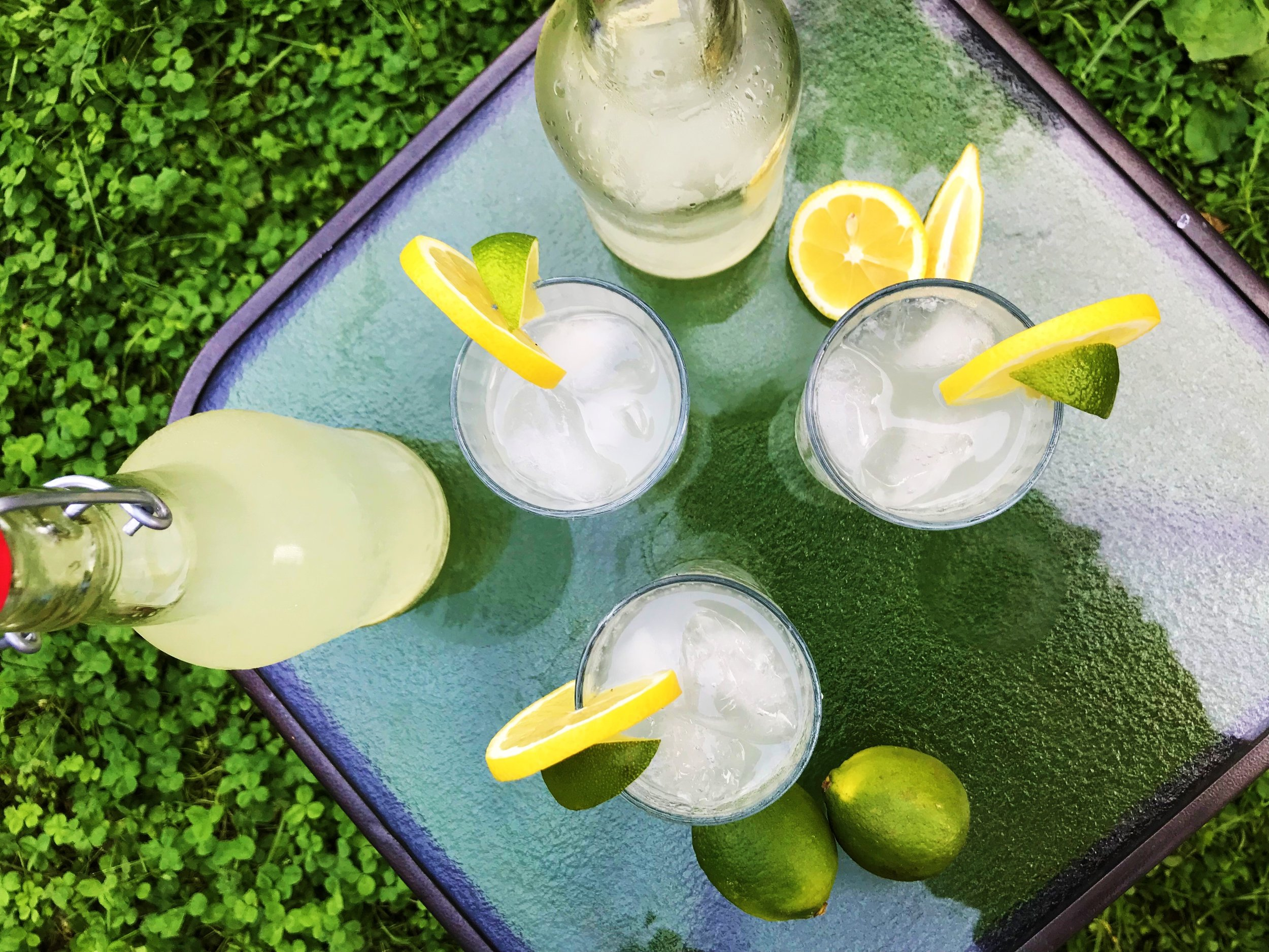 Naturally Carbonated Lemon-Lime Soda made in the Adventure Kitchen.