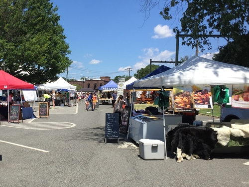 The Montclair Farmers' Market in New Jersey on a recent Saturday.