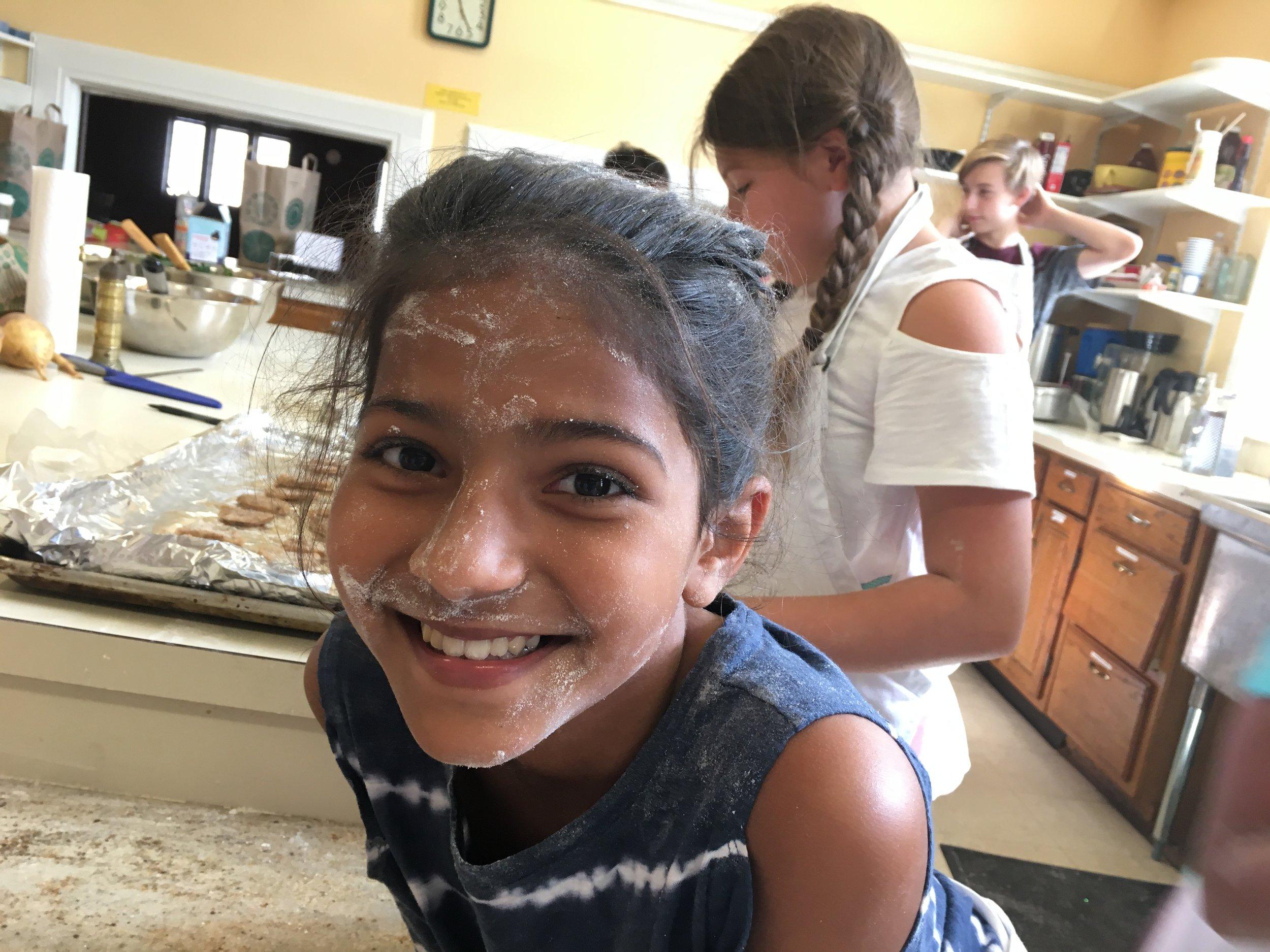 Flour is fun