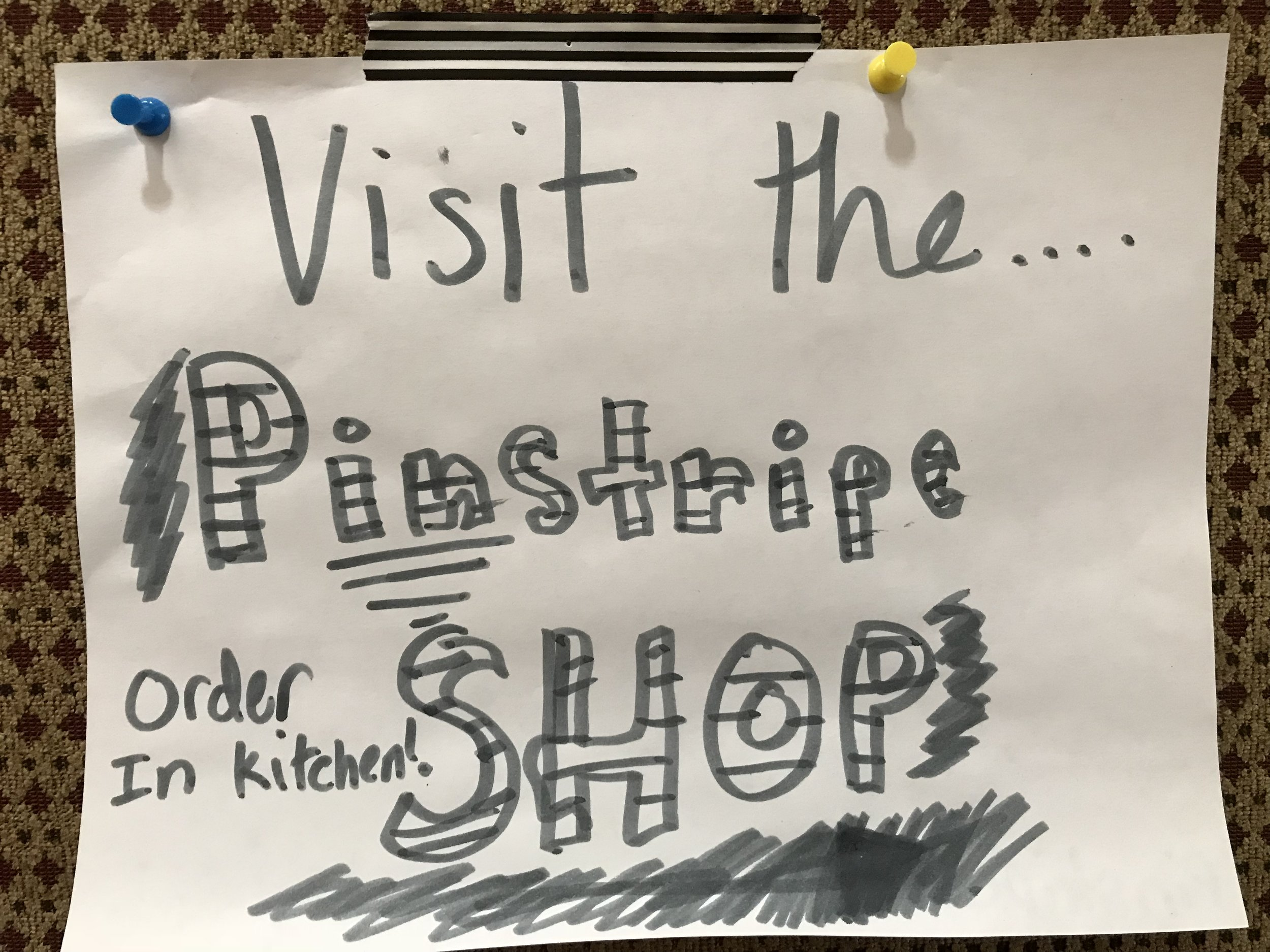 The Pinstripe Shop