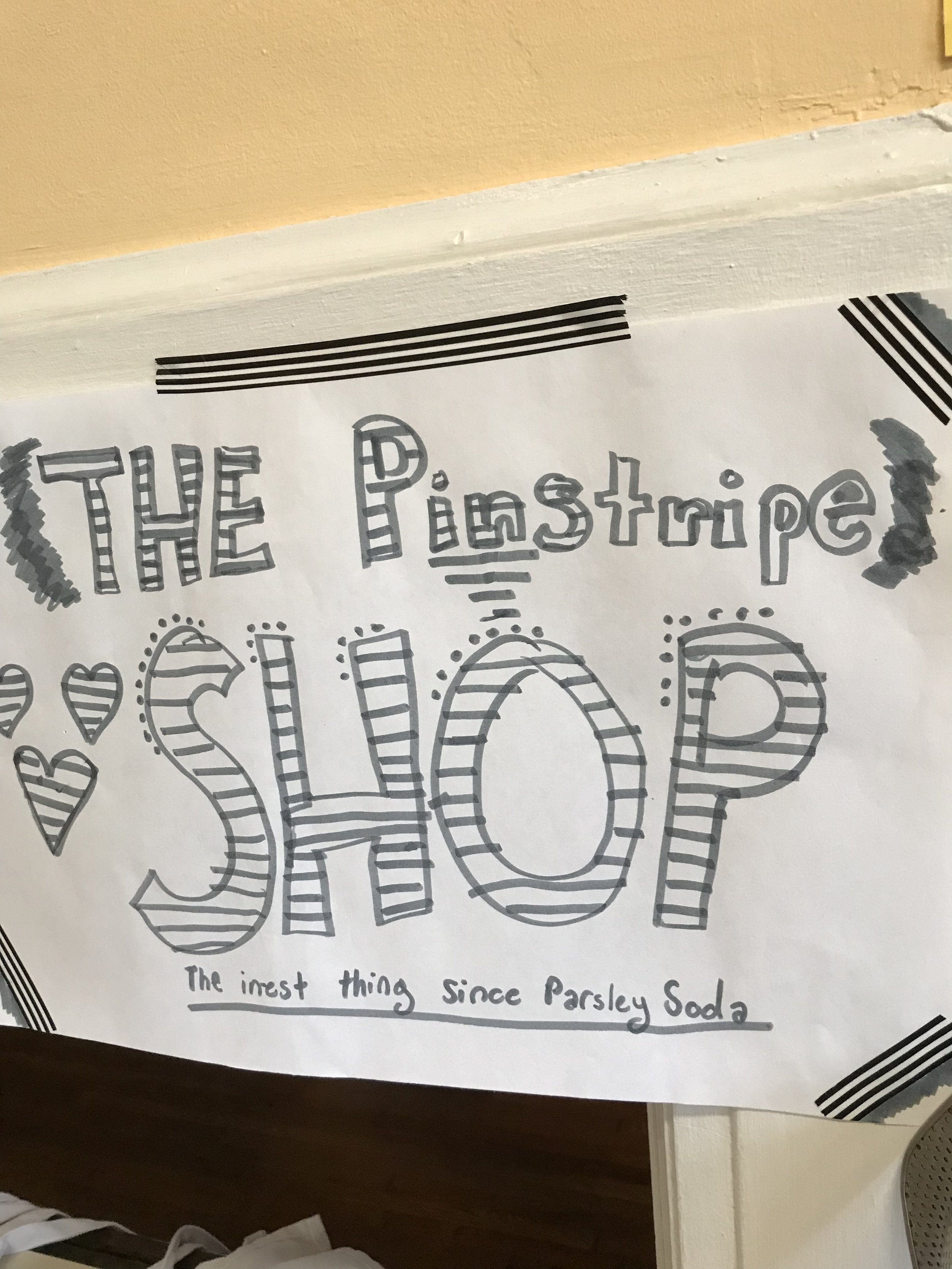 The Pinstripe Shop!