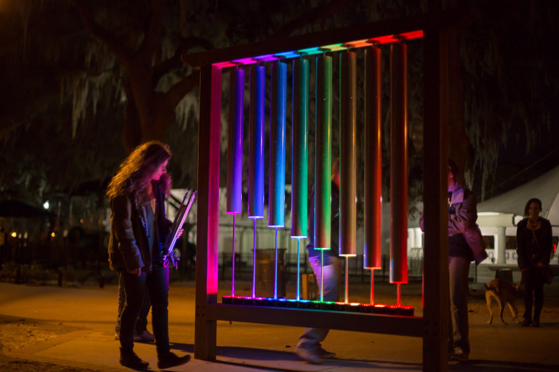 Color Bells Savannah Forsyth Park