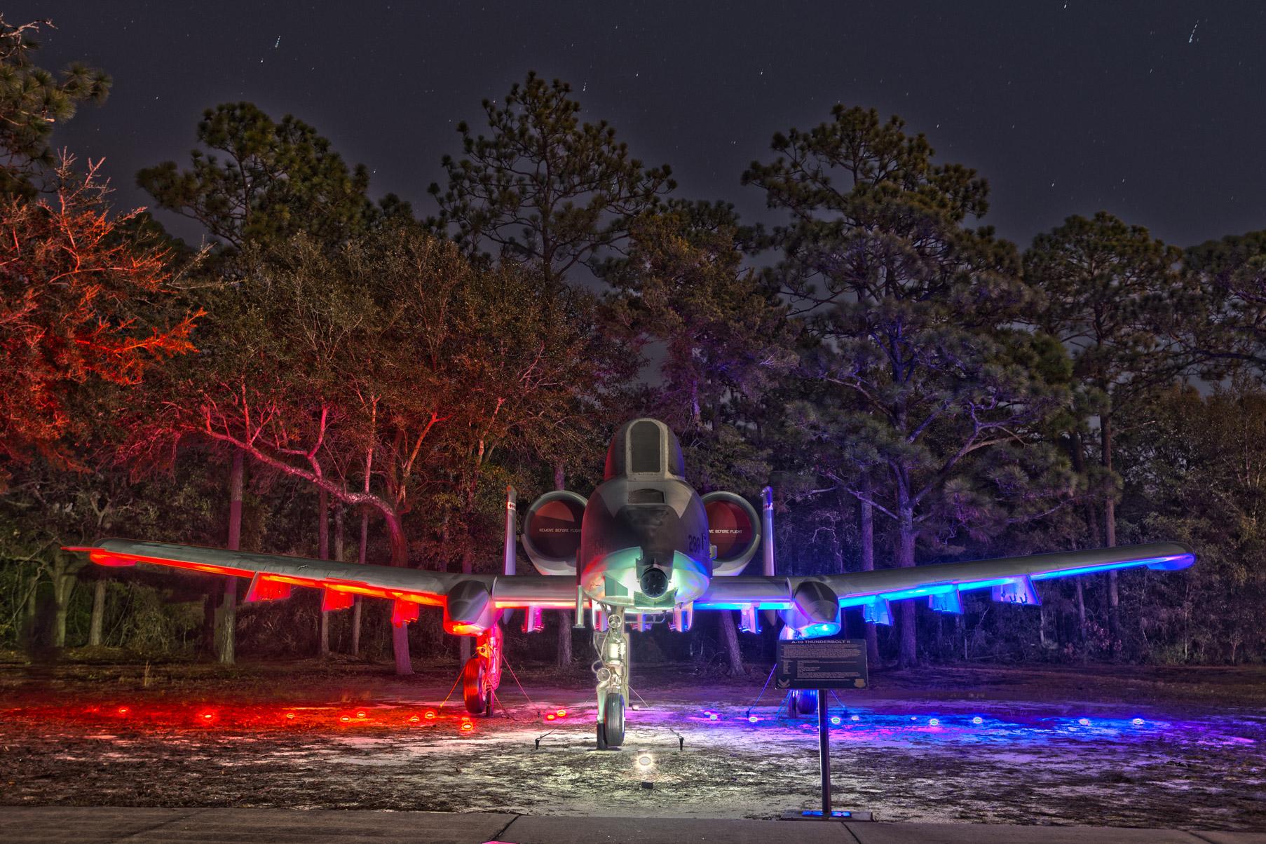A-10 Thunderbolt Lighting Flight