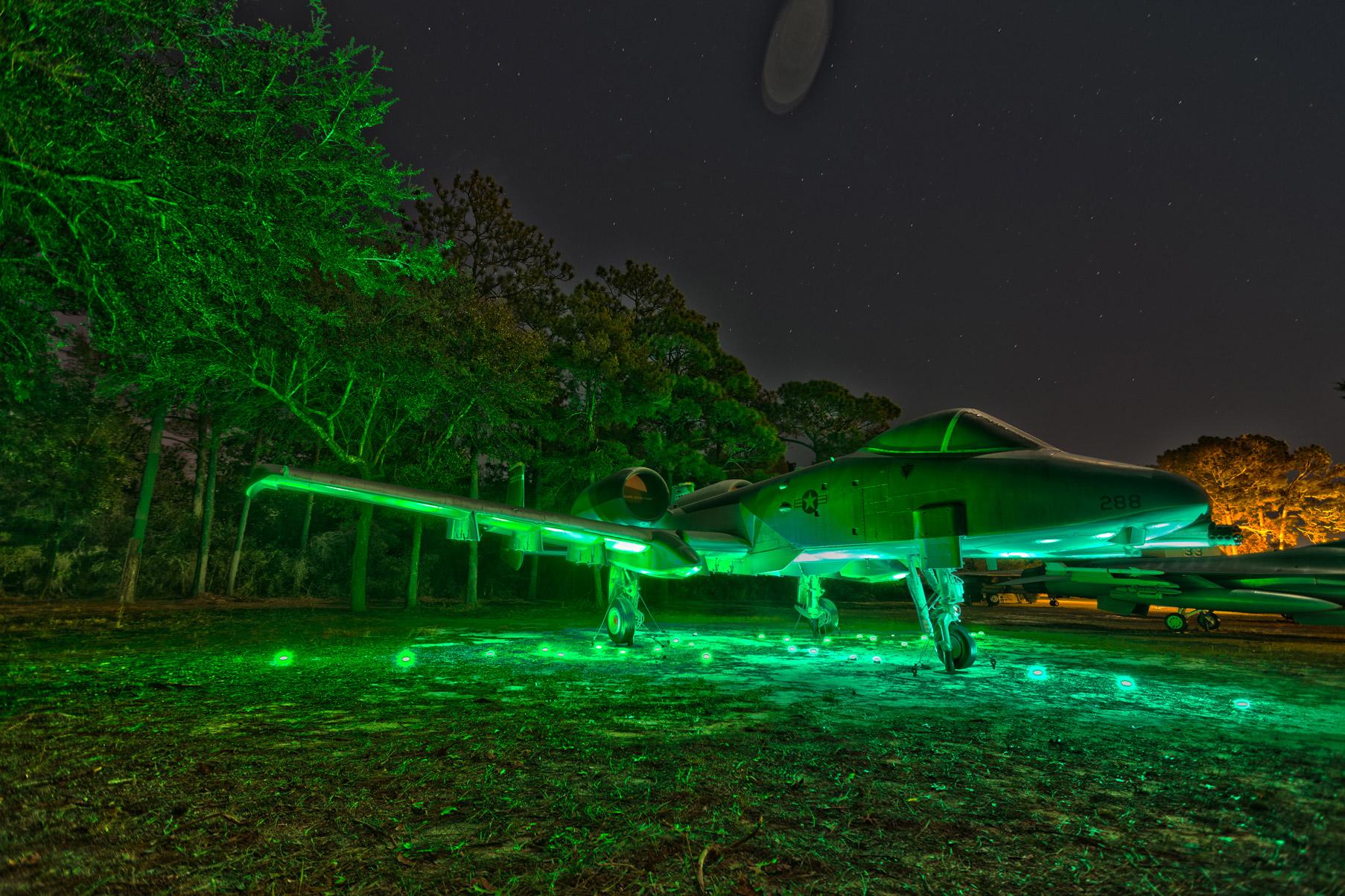 A-10 Thunderbolt Green Light