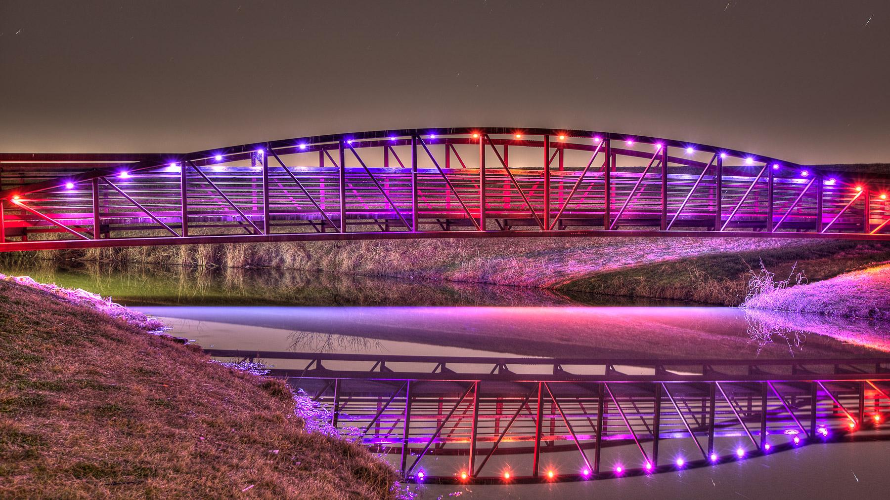 Canal Bridge Dallas 2