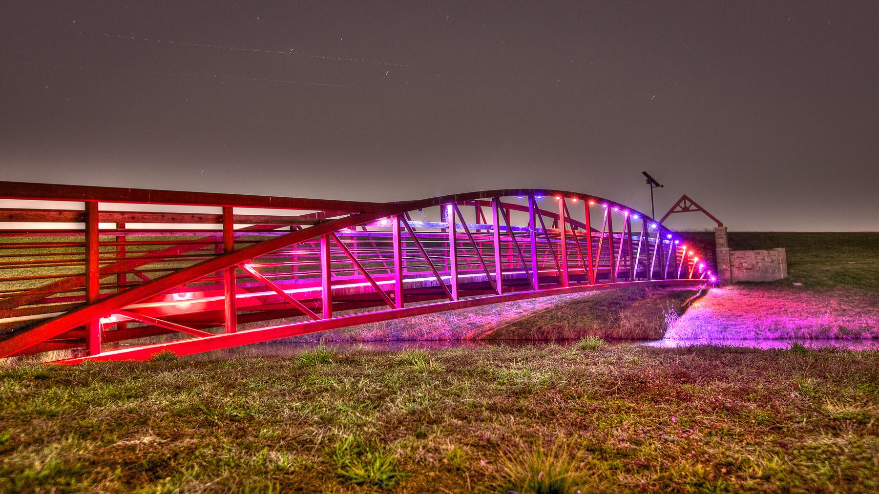 Canal Bridge Irving Texas