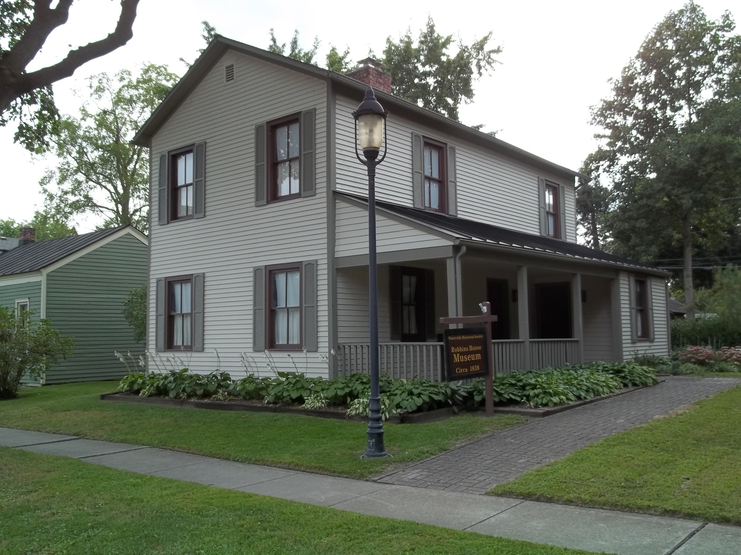Robbins House ~ 114 S. River Road, Waterville, OH -- newly painted in 2015