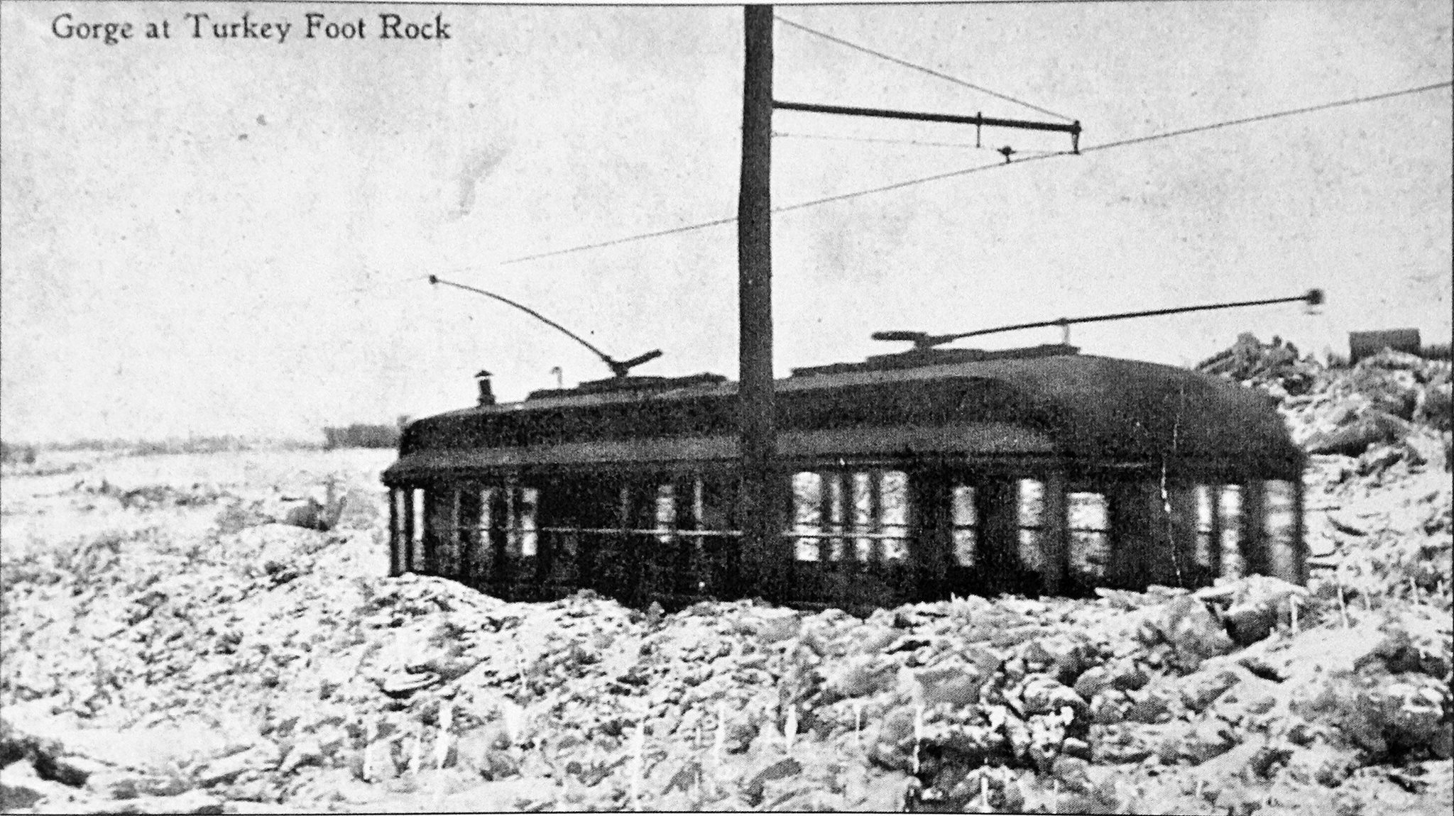 Apparently this was adjacent to the Turkey Foot Rock location just West of Jerome Road and the crossover point..jpg
