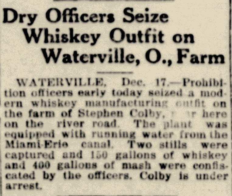 Did You Know ? — Waterville Historical Society