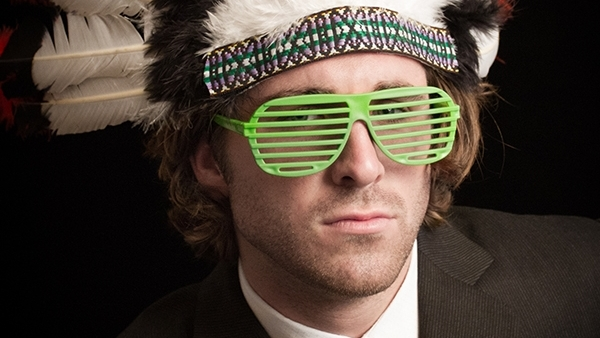 Nice Props, Bro! - a series of bro portraits coupling black-tie formal wear and photo booth props